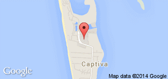 Captiva Island, FL Map