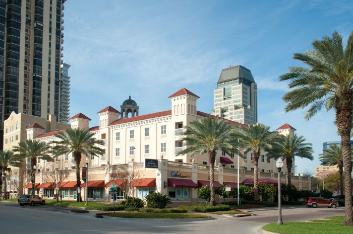 hampton inn and suites st. petersburg florida