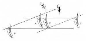 wind shifts and equal position lines