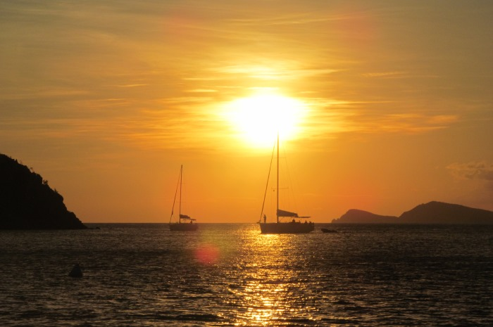 12-British-Virgin-Islands-Offshore-Sailing-School-Flotilla-Sunset