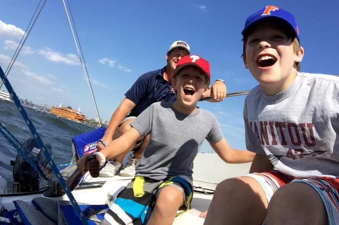 HudsonBrown-GriffinBrown-sailinglesson