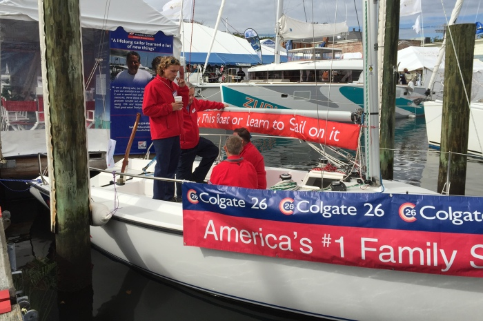 PURCHASE THE DISPLAY BOAT FOR THE 2018 OCTOBER U.S. SAILBOAT SHOW IN  ANNAPOLIS AT 20% OFF LIST PRICE