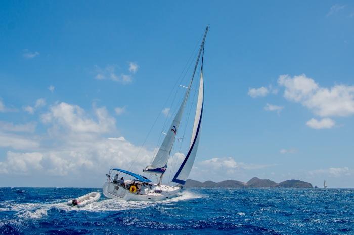 Virgin island sailing yachts